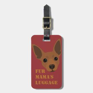 Etiqueta De Bagagem A mala de viagem da bagagem do Pin do minuto