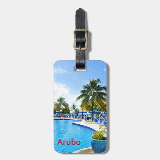 Etiqueta De Bagagem Aruba
