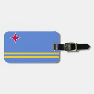 Etiqueta De Bagagem Bandeira de Aruba