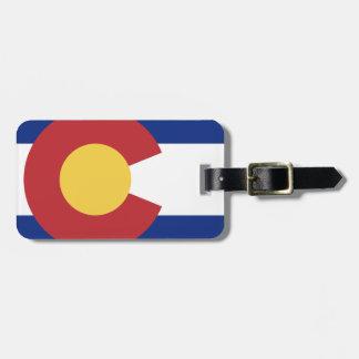 Etiqueta De Bagagem Bandeira de Colorado