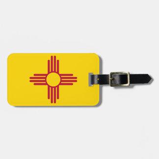 Etiqueta De Bagagem Bandeira de New mexico