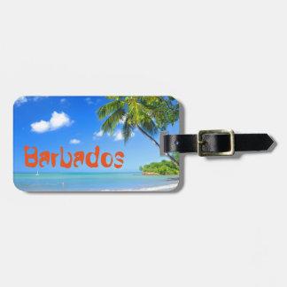 Etiqueta De Bagagem Barbados