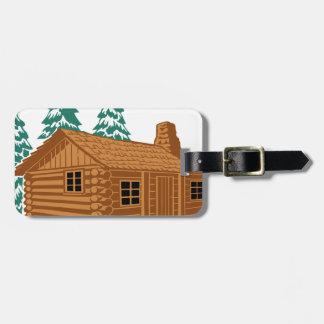 Etiqueta De Bagagem Casa da cabine