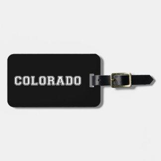 Etiqueta De Bagagem Colorado