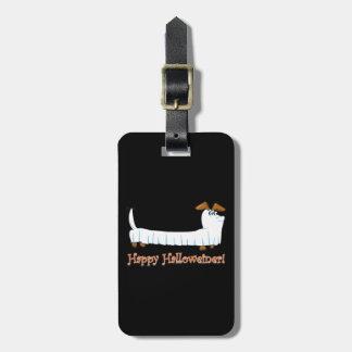 Etiqueta De Bagagem Feliz-Halloweiner