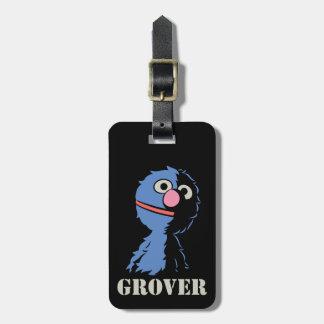 Etiqueta De Bagagem Grover meio