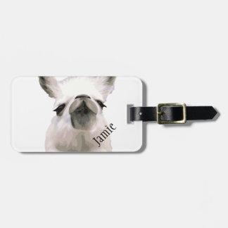 Etiqueta De Bagagem Lama Snobby Snooty personalizado