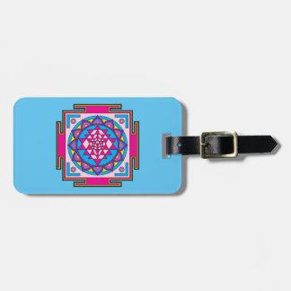 Etiqueta De Bagagem Mandala de Sri Yantra