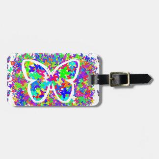 Etiqueta De Bagagem O amor Butteryflies DIY dos MIÚDOS fácil