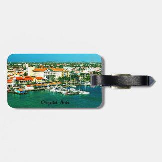 Etiqueta De Bagagem Oranjestad Aruba
