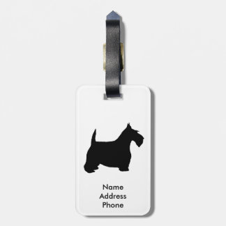 Etiqueta De Bagagem Os Scottish Terrier personalizam