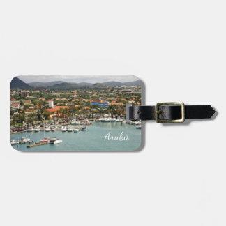 Etiqueta De Bagagem Porto de Aruba personalizado