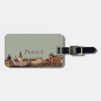 Etiqueta De Bagagem Praga