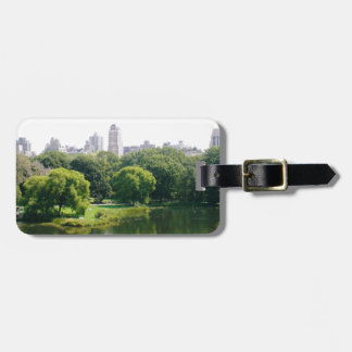 Etiqueta De Bagagem Skyline do Central Park de NYC