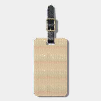 Etiqueta De Bagagem Tag da bagagem com correia de couro