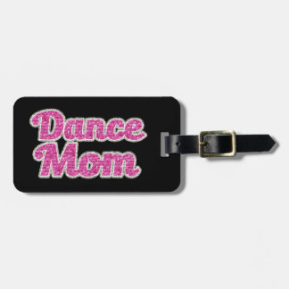 Etiqueta De Bagagem Tag da bagagem do brilho da mamã da dança
