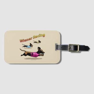 Etiqueta De Bagagem Wiener que compete o Tag da bagagem