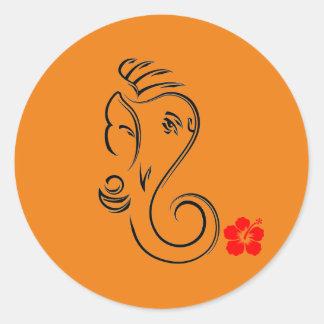 Etiqueta de Ganesha