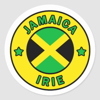 Etiqueta de Jamaica Adesivo