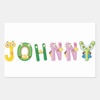 Etiqueta de Johnny
