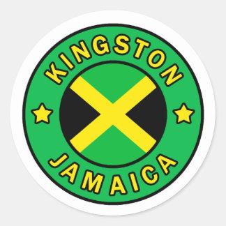 Etiqueta de Kingston Jamaica