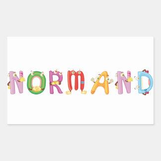 Etiqueta de Normand