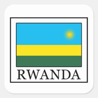 Etiqueta de Rwanda