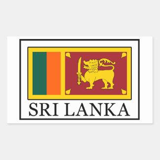 Etiqueta de Sri Lanka