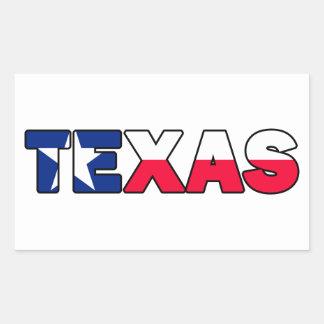 Etiqueta de Texas