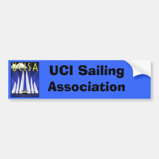 Etiqueta de UCISA Bunper, associação da navigação  Adesivo Para Carro