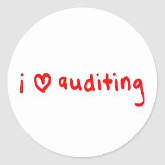 Etiqueta do auditor - exame do amor de I