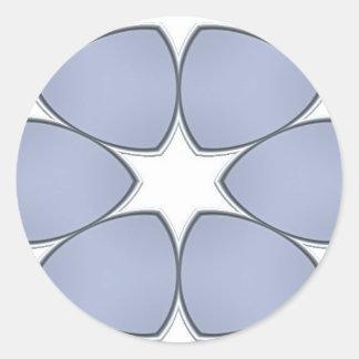Etiqueta do azulejo adesivos redondos