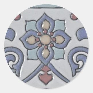 Etiqueta do azulejo adesivos