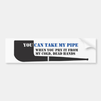 Etiqueta do carro de fumador de tubulação adesivo para carro