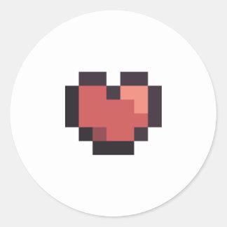 Etiqueta do coração