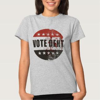 Etiqueta do dente do voto tshirts