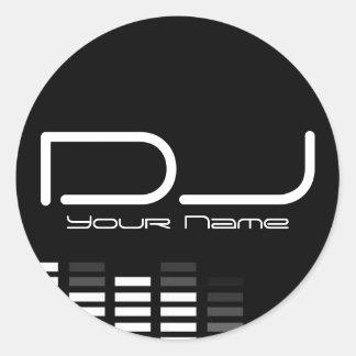 Etiqueta do DJ
