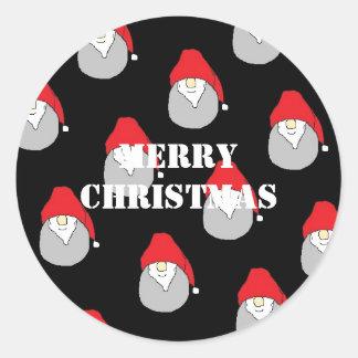 Etiqueta do Feliz Natal Adesivo