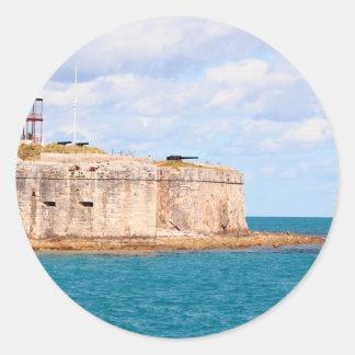 Etiqueta do forte de Bermuda