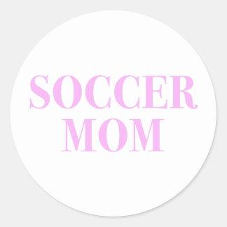 Etiqueta do impressão do rosa do slogan da mamã do