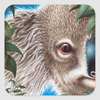 Etiqueta do Koala dos objetos antigos