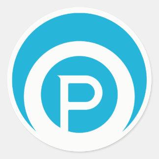Etiqueta do logotipo de Paracosms