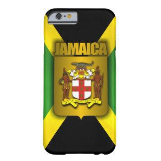 Etiqueta do ouro de Jamaica Capa Barely There Para iPhone 6