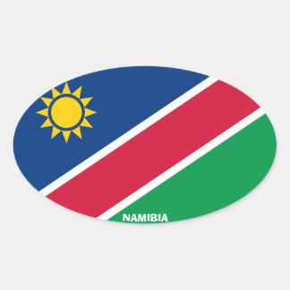 Etiqueta do Oval do Euro--Estilo de Namíbia