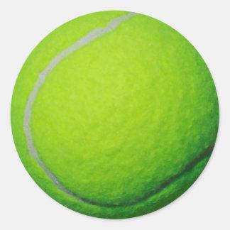 Etiqueta do presente do jogador de golfe do fã de adesivo em formato redondo