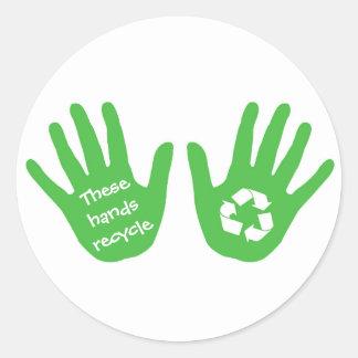 Etiqueta do reciclar