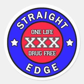 Etiqueta do Straightedge