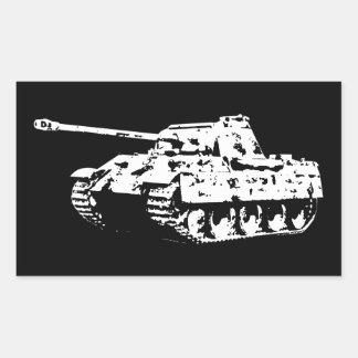 Etiqueta do tanque da pantera