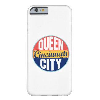 Etiqueta do vintage de Cincinnati Capa Barely There Para iPhone 6