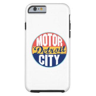 Etiqueta do vintage de Detroit Capa Tough Para iPhone 6